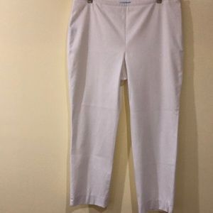 Starchy summer pants